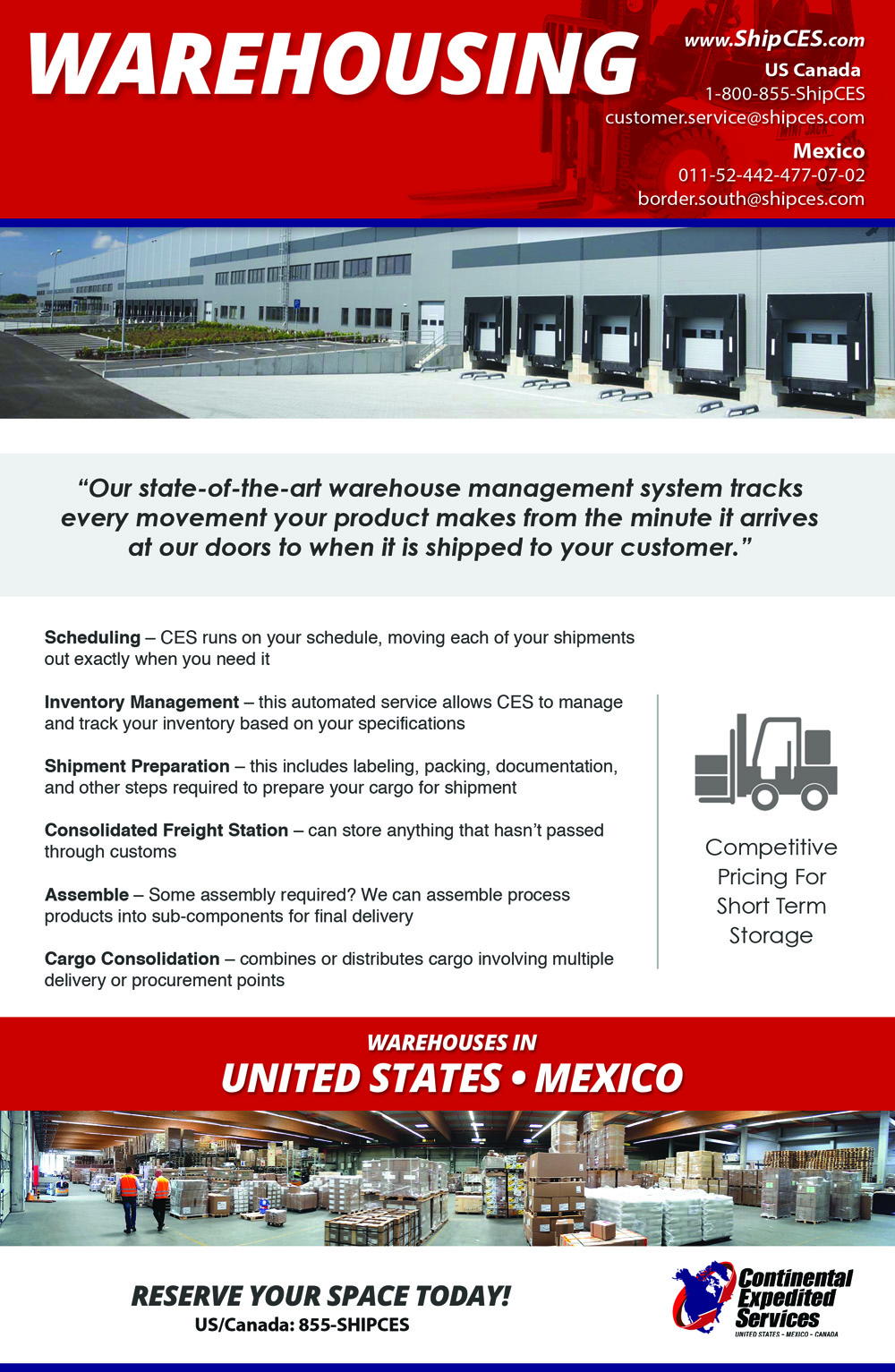 Surface Expedite – Continental Expedited Services