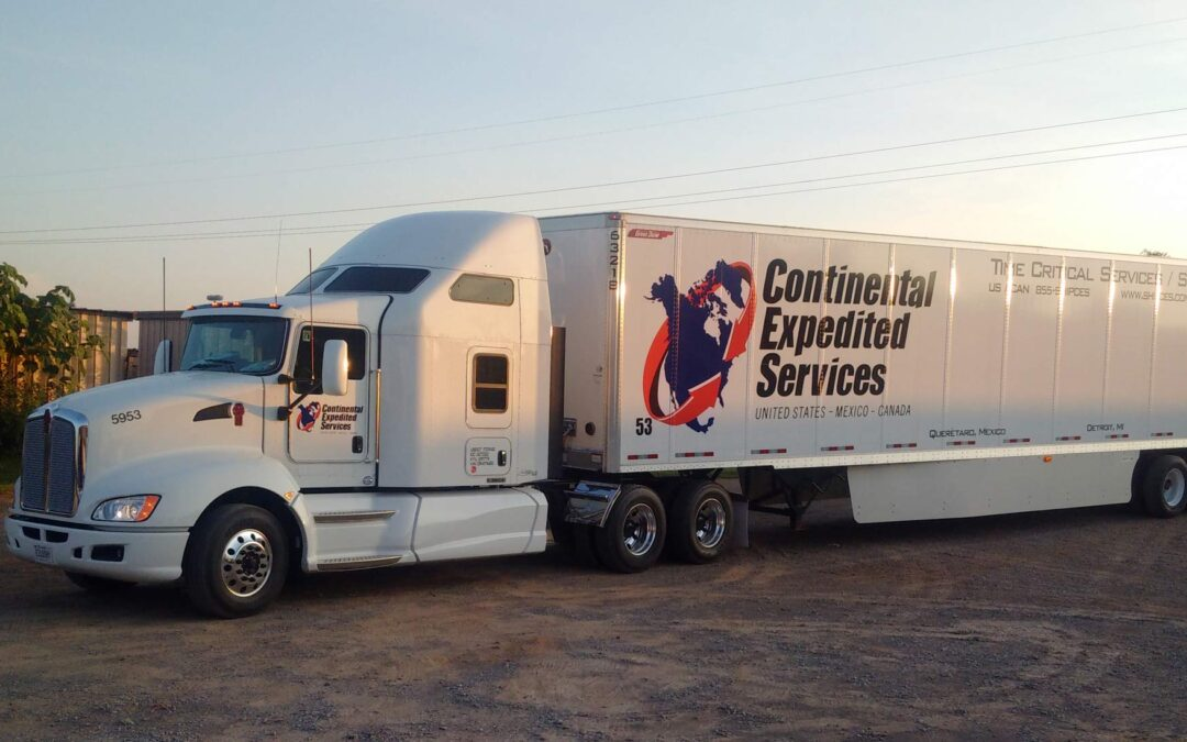 truck headed to Mexico